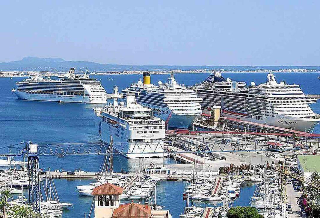 El taxi de Mallorca factura un 70% más con los cruceros