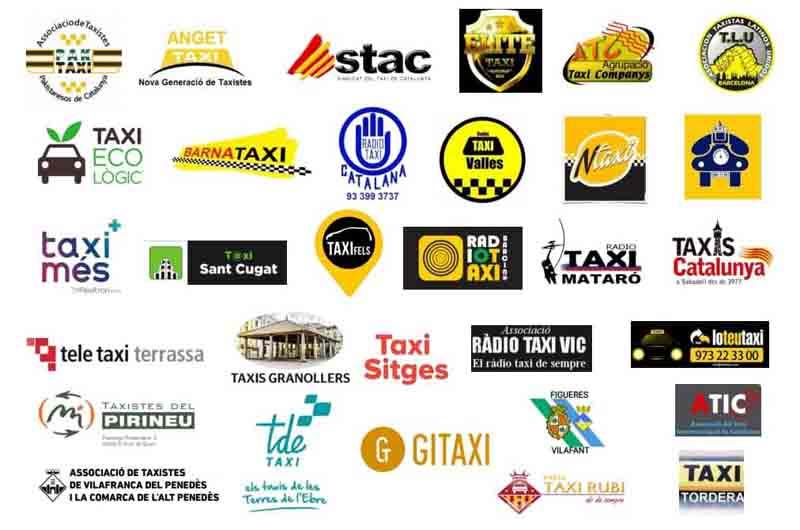Las asociaciones del Taxi piden reunirse con Aena por los problemas de El Prat