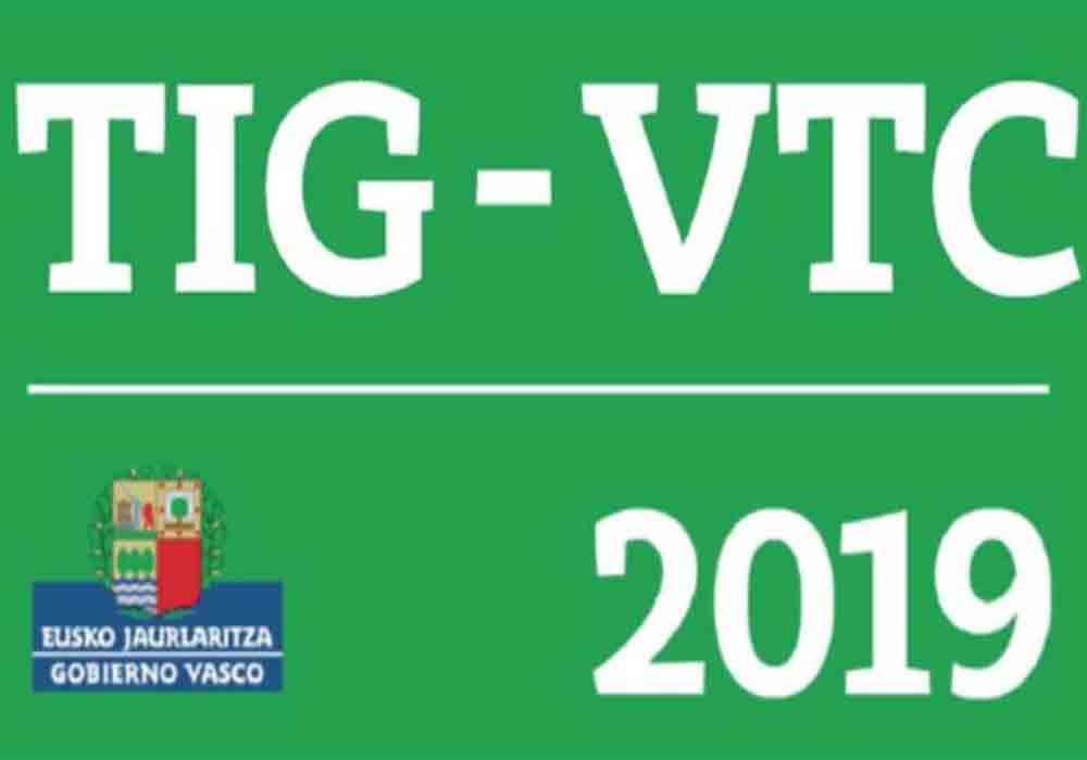Los VTC de Euskadi llevarán 2 distintivos identificativos
