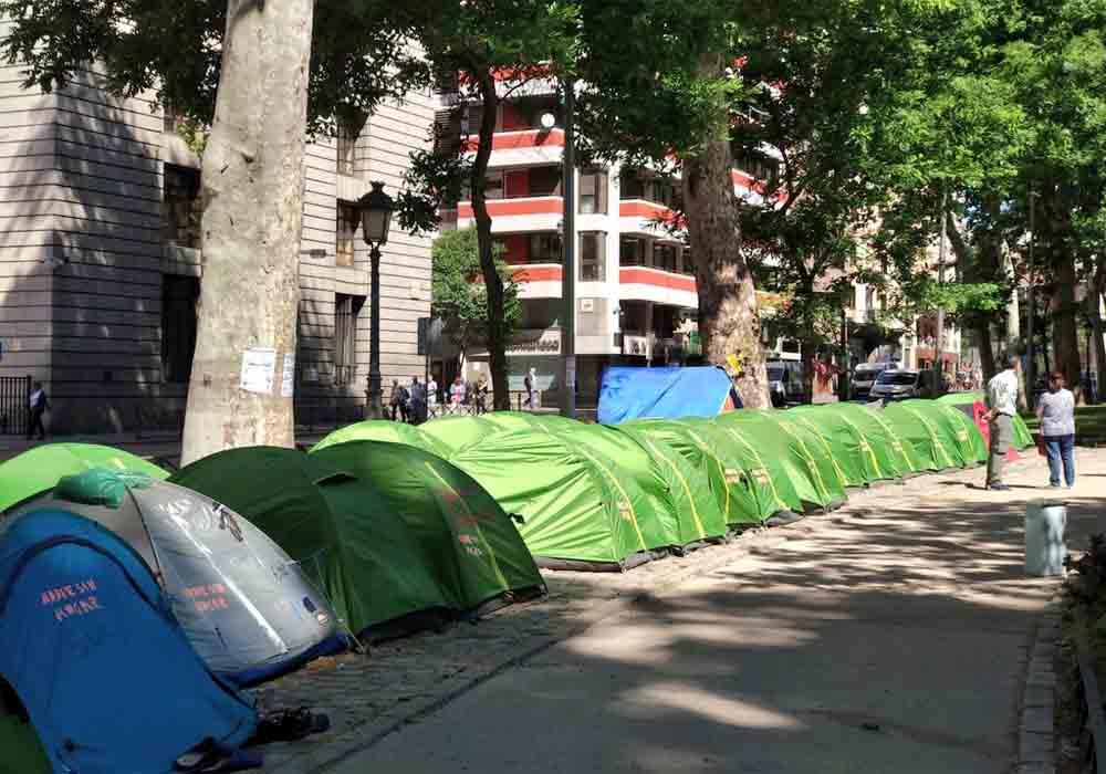 Recogida de alimentos de Élite Social en Madrid para los sin techo