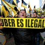 La guerra contra Uber se calienta en las calles de Buenos Aires