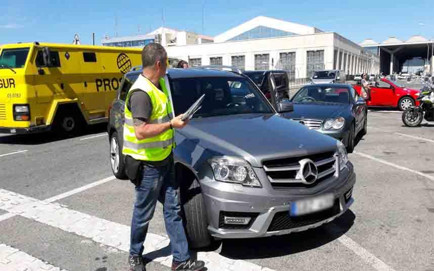 Málaga ejercerá más control sobre los piratas del transporte en el Aeropuerto