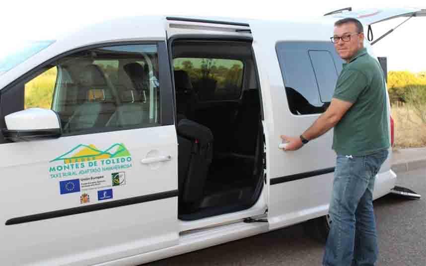 Taxi rural adaptado para los municipios de Toledo