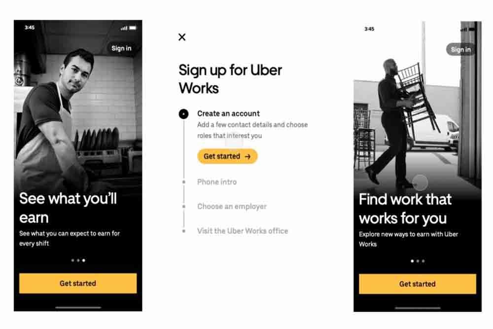 Uber lanza al mercado una app de búsqueda de empleo precario
