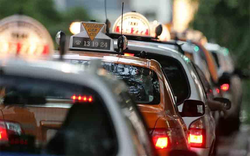 Los taxistas de Australia demandan al gobierno