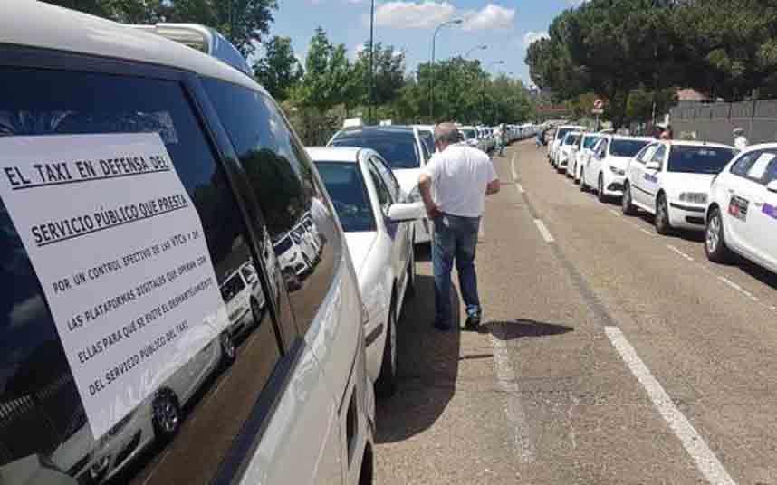 Salamanca no tiene mercado para Uber y Cabify