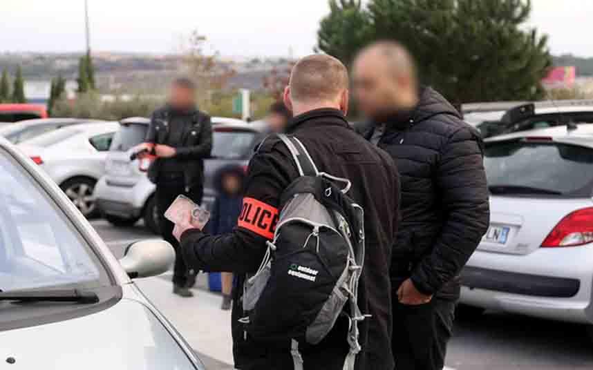 Tres detenidos en el aeropuerto de Marsella por piratas del transporte