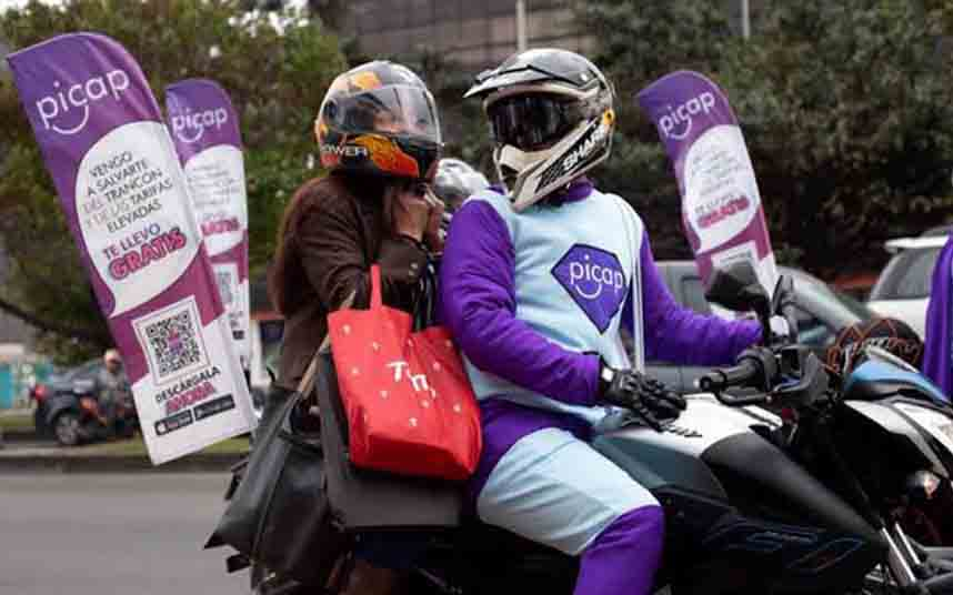 Colombia declara ilegal y ordena la liquidación de la empresa de transporte en moto CAP