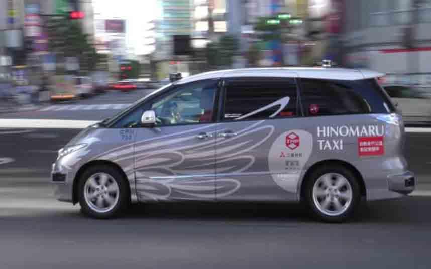 Japón pone en marcha un taxi autónomo desde el centro de Tokio al aeropuerto