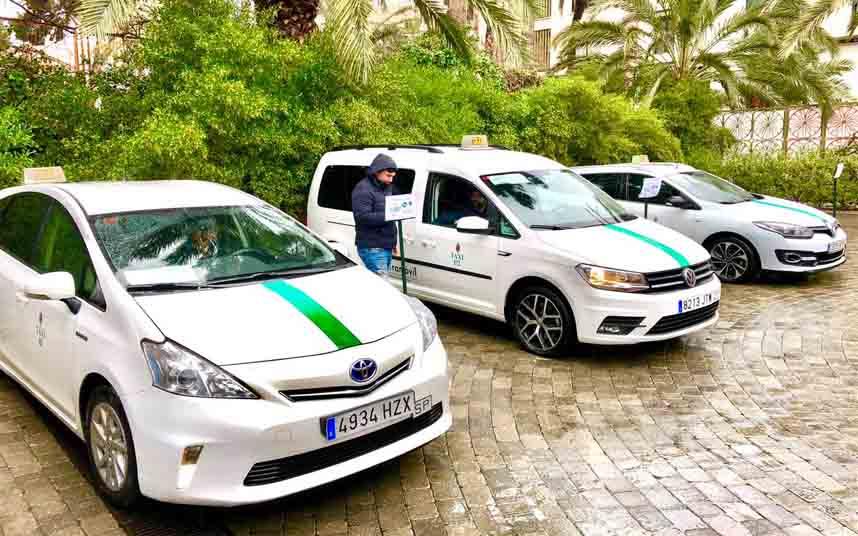 La flota del taxi en Elche se convertirá en ECO o en CERO emisiones