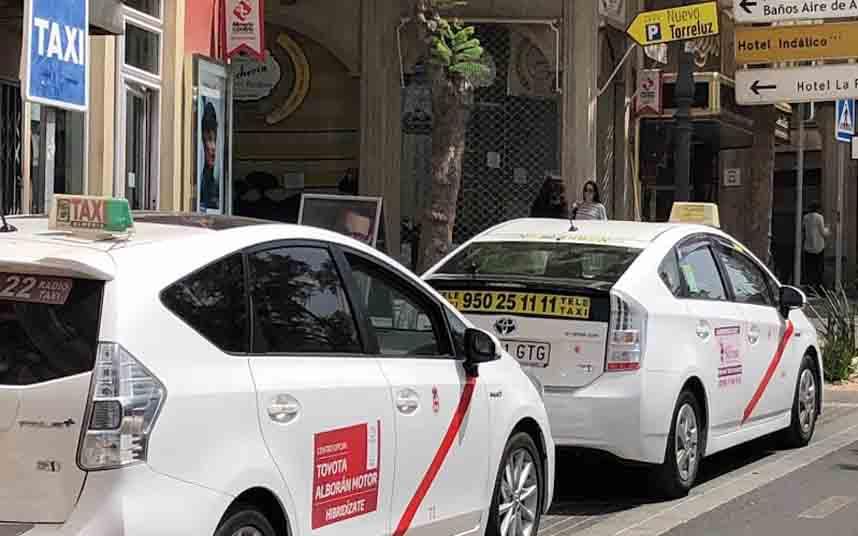 Más taxis para la provincia de Almería
