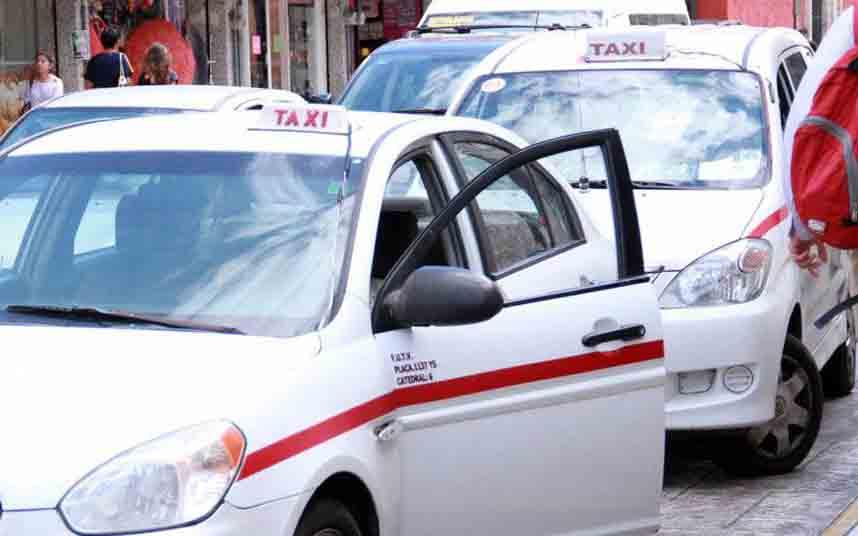 Mérida: Taxistas siguen quejándose por servicio de Uber y otras plataformas