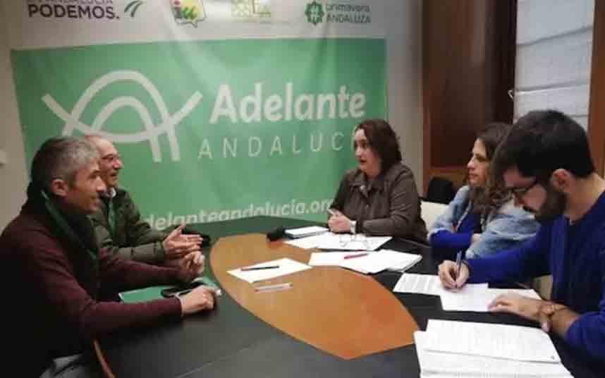 Adelante Andalucía exige a la Junta una respuesta a las demandas de los taxistas