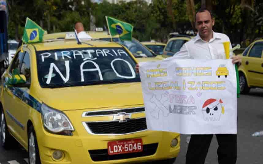 Conoces la regulación de Uber en Brasil?