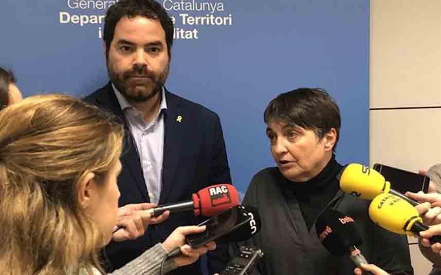 El compromiso de la Generalitat y el Ayuntamiento de Barcelona con el taxi