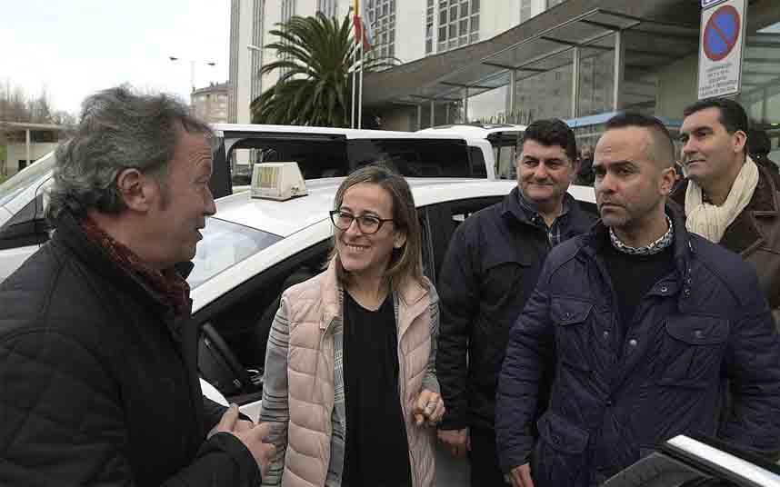 La Xunta de Galicia destina ayudas para los taxis eco y adaptados
