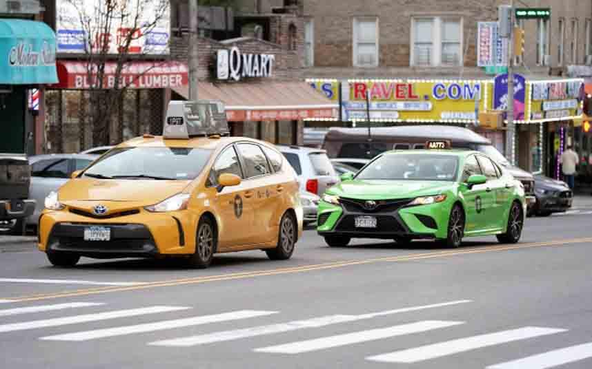Nueva York estudia implantar en el taxi las tarifas dinámicas