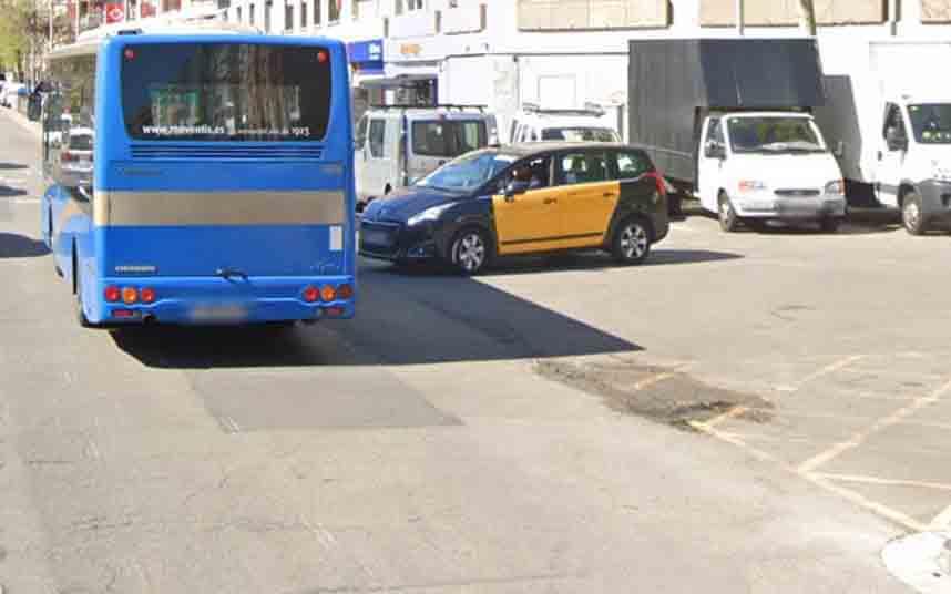 Detenido un atracador cuando intentaba robar un taxi en Barcelona