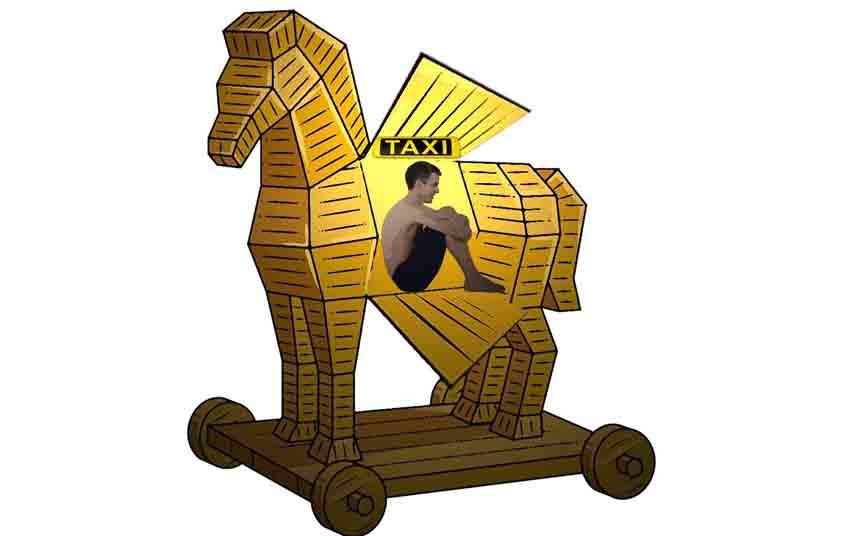 Saltan las alertas El caballo del Troya en el Taxi