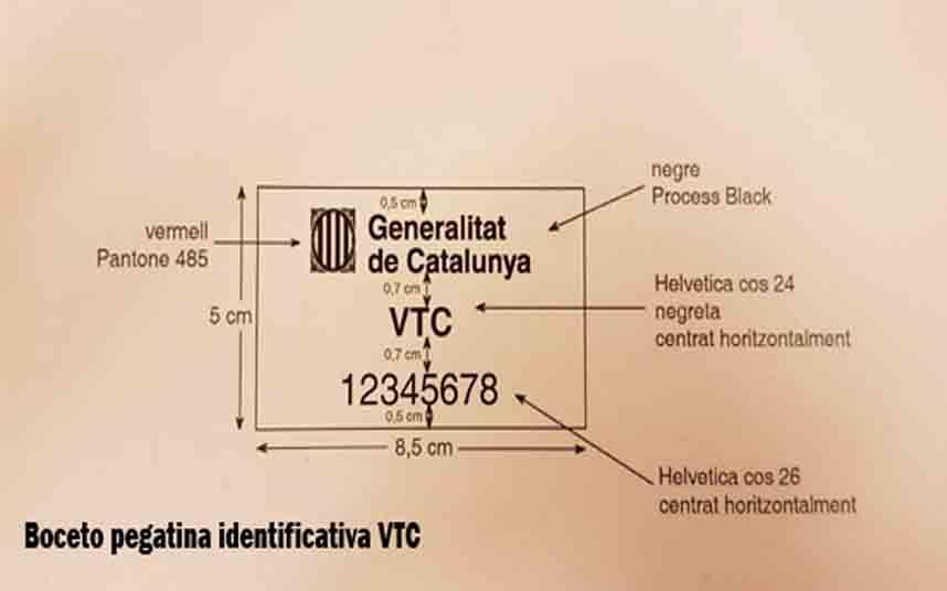 El registro de los VTC de la Generalitat estará operativo a final de febrero