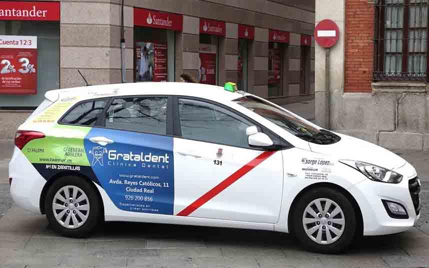 El taxi de Ciudad Real aumenta sus tarifas un cinco por ciento