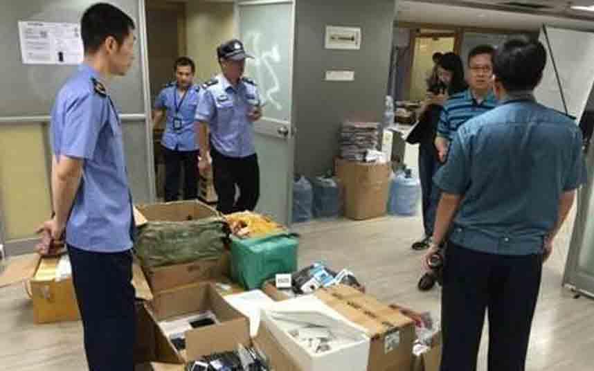 La policía china registra las oficinas de Uber en Guangzhou