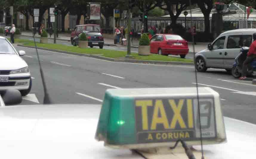 Roba la cartera a un taxista con 200 euros en San Pedro de Visma (A Coruña)