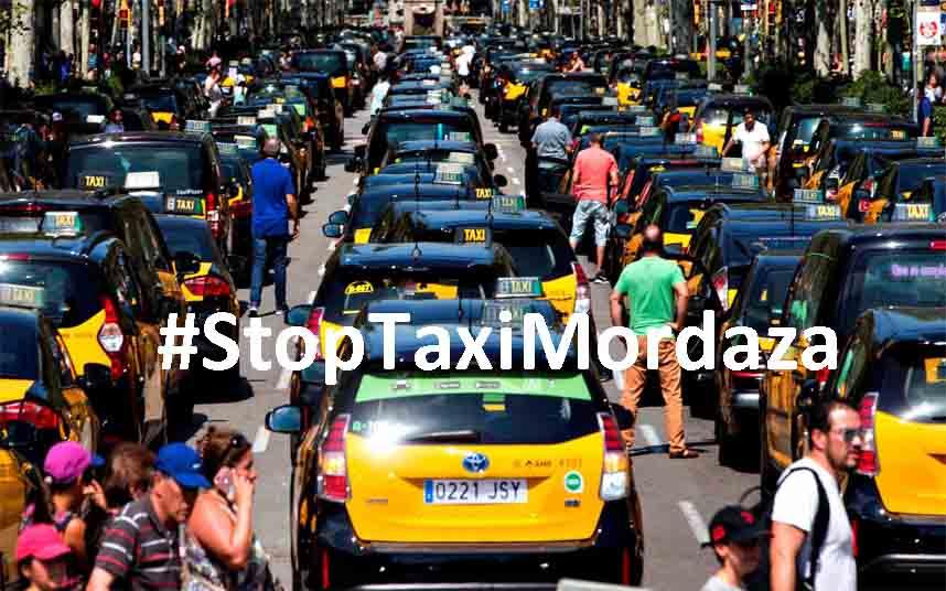 Campaña de crowdfunding contra las sanciones de la Generalitat al taxi