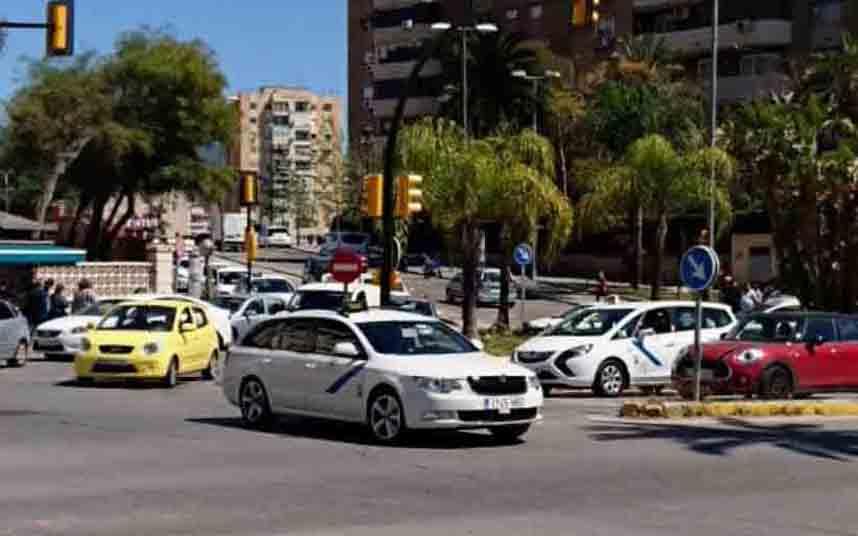 Adoptadas las medidas extraordinarias en el taxi de Málaga por el coronavirus