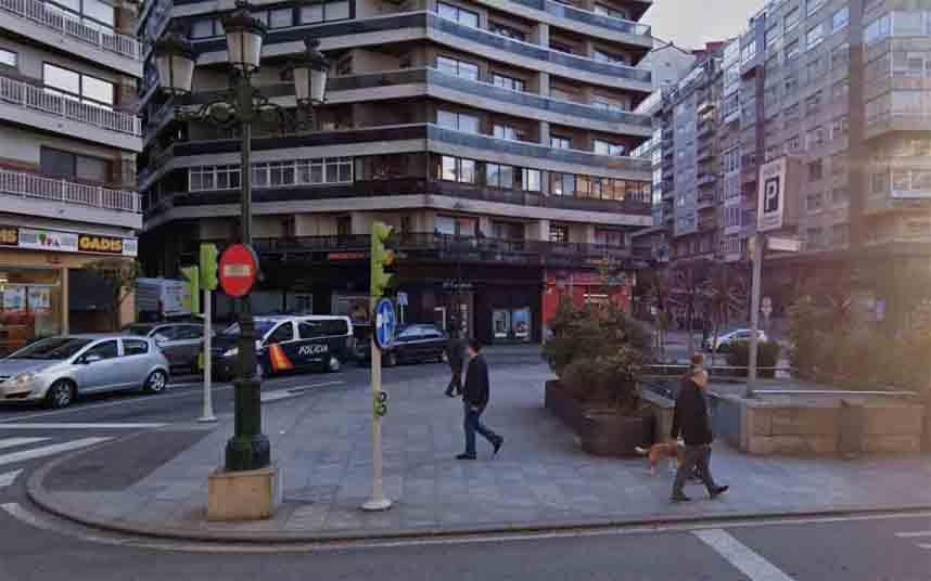 Detenidos por atracar a un taxista a punta de cuchillo en Vigo