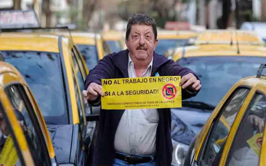 Hoy habrá una nueva protesta contra Uber en Buenos Aires