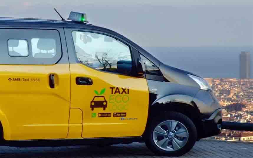 Modificación de los servicios de taxi en Barcelona frente al coronavirus
