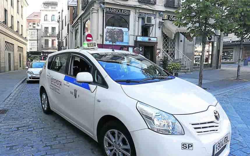 Modificación de los servicios de taxi en Salamanca frente al coronavirus