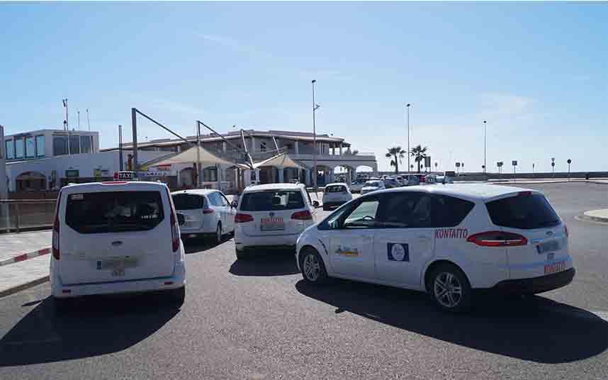 Obtención de licencias de taxi estacional en Formentera
