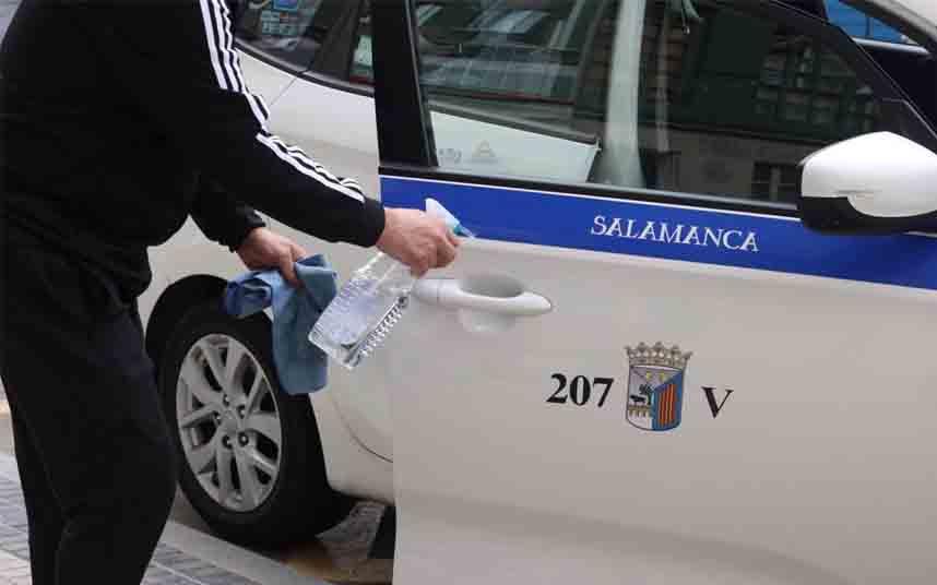 Salamanca suspende el artículo de pérdida de licencia de taxi a quien no preste el servicio