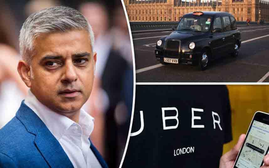 ¿Uber ha vuelto a tocar la espalda del Alcalde de Londres?