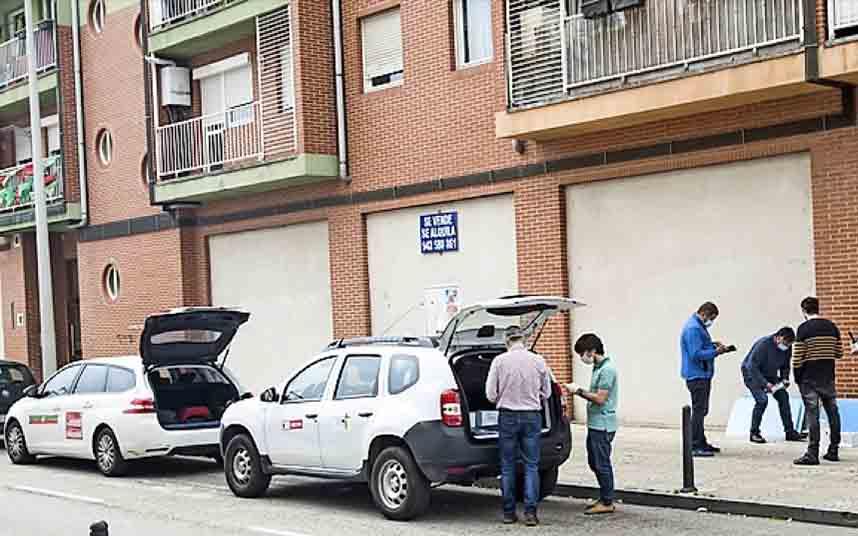 El taxi de Torrelavega dispondrá de mascarillas y pantallas protectoras