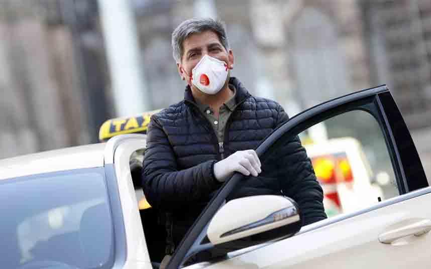 Los taxistas alemanes se enfrentan a una situación catastrófica debido al coronavirus