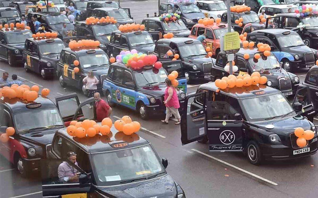La marcha benéfica de los taxis de Londres a la playa se cancela por primera vez en más de 90 años