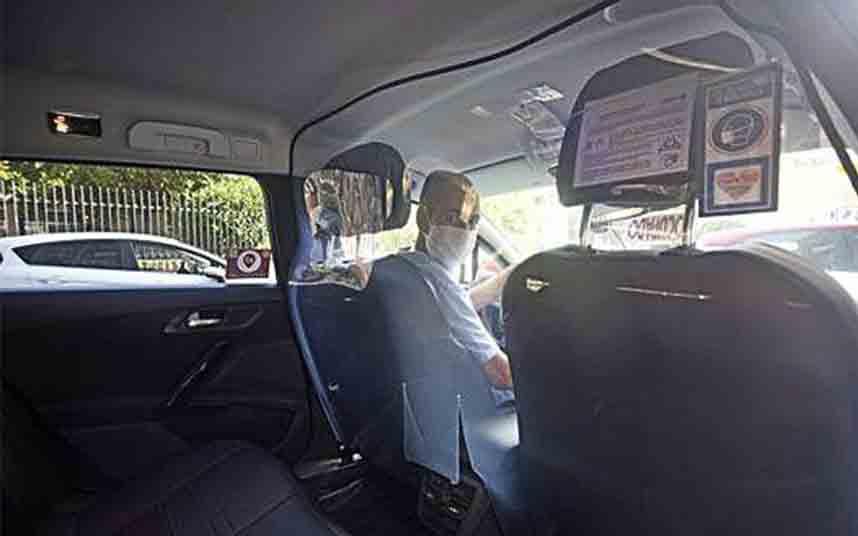 Los taxistas de Cartagena comienzan la Fase 1 de la desescalada