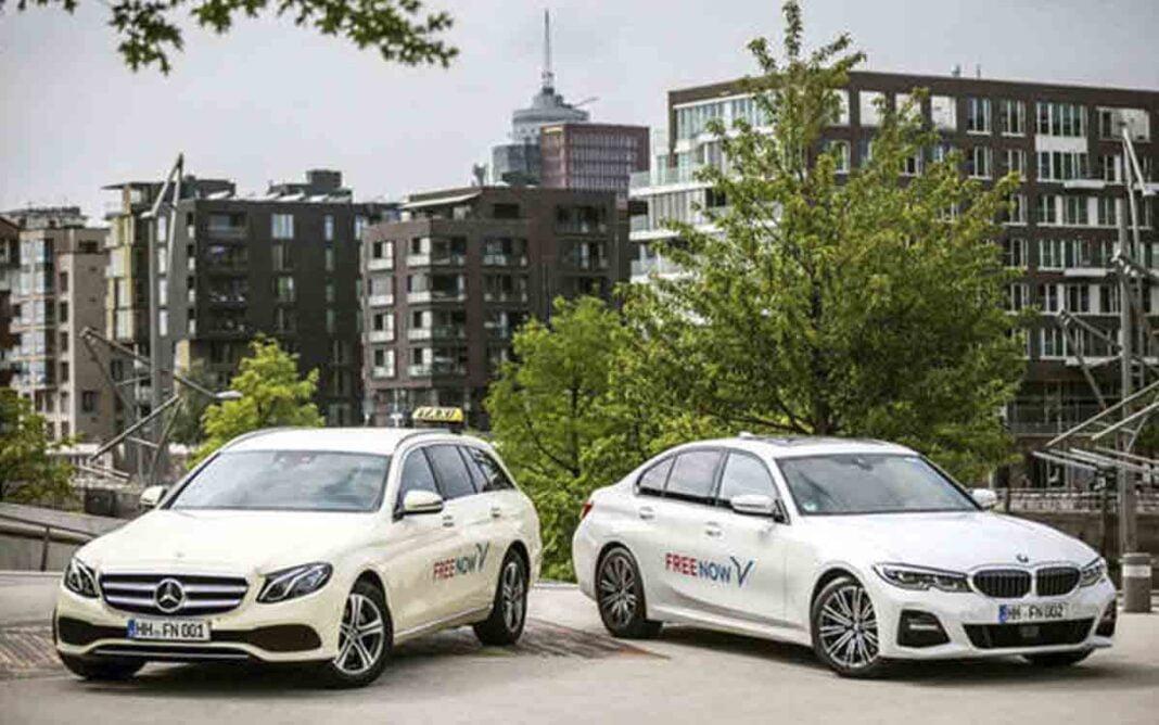 Los taxistas de Múnich abandonan Free Now al trabajar ésta con Uber