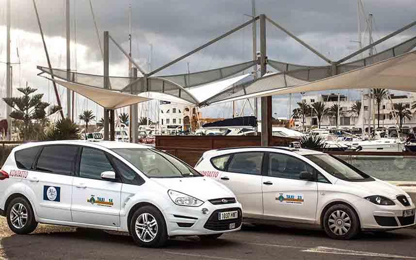 Modificaciones en el servicio de taxi de Formentera debido a la desescalada