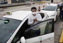 Pérdidas del 90% de ingresos en los taxistas granadinos