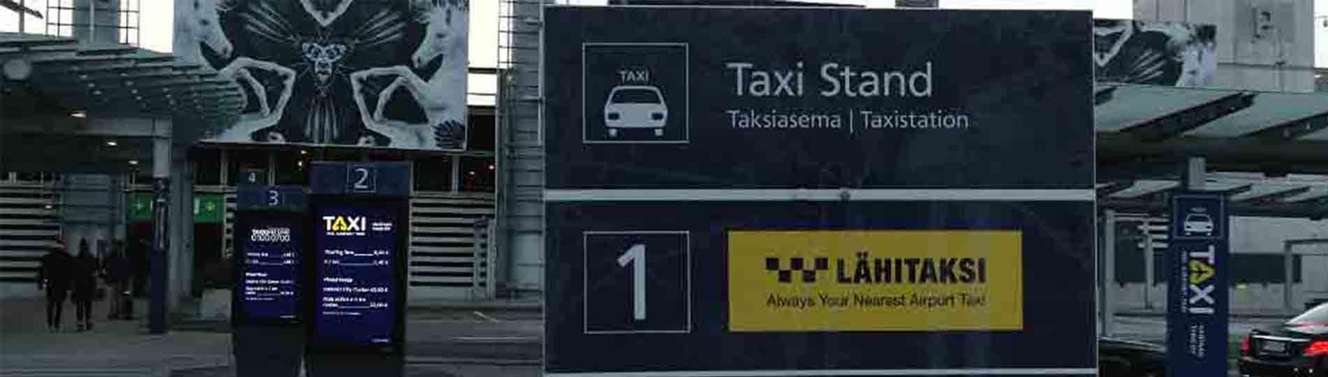 Paradas de Taxi
