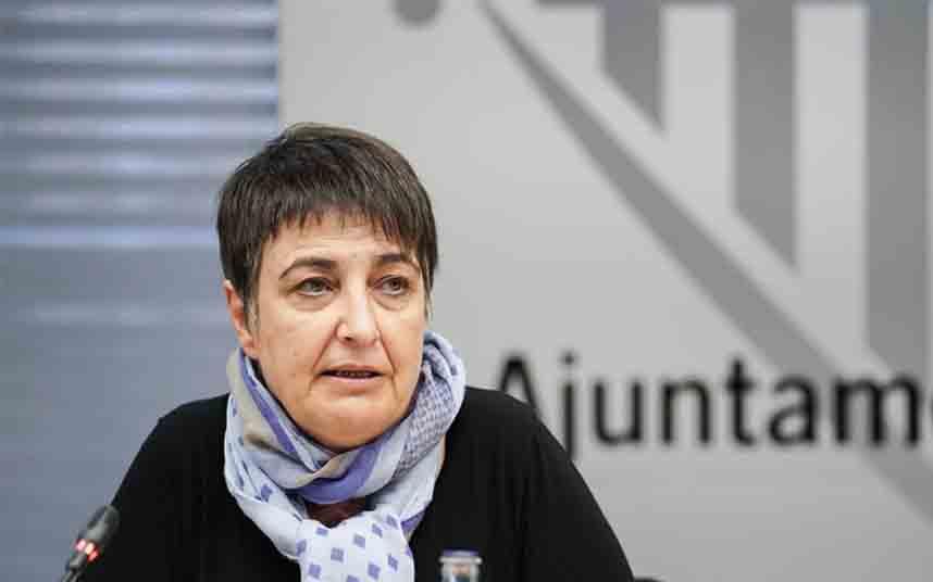 Rosa Alarcón, Presidenta del IMET, explica las medidas para el impulso del taxi en el AMB