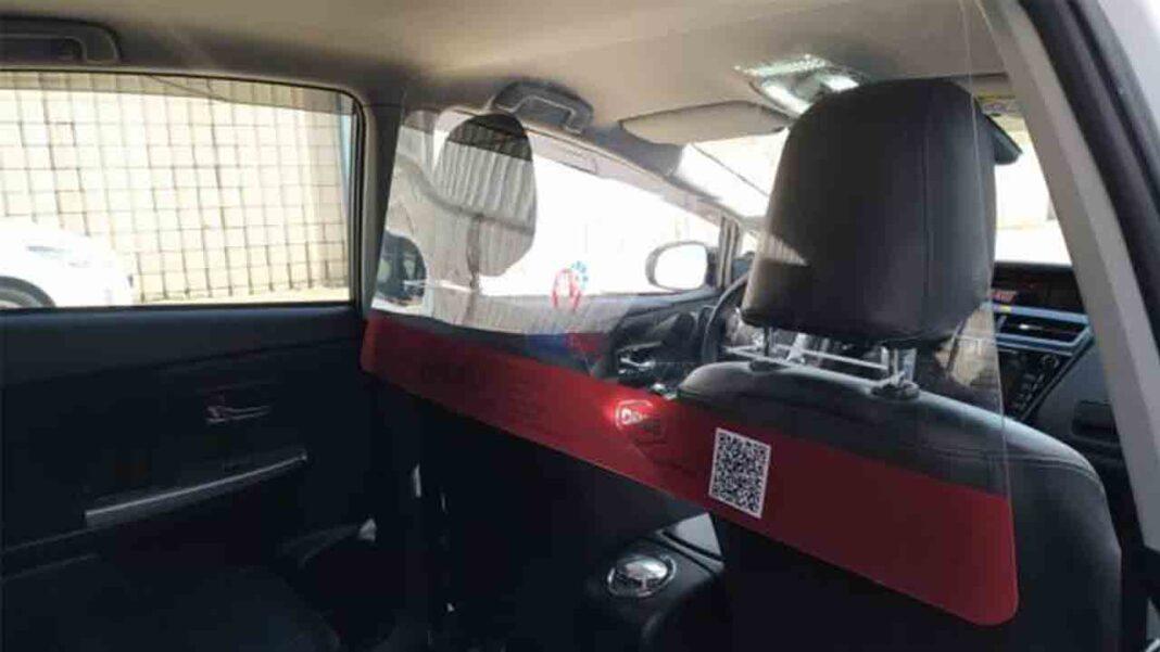 Autacor instalará mamparas en los taxis de Córdoba integrados en la App PideTaxi