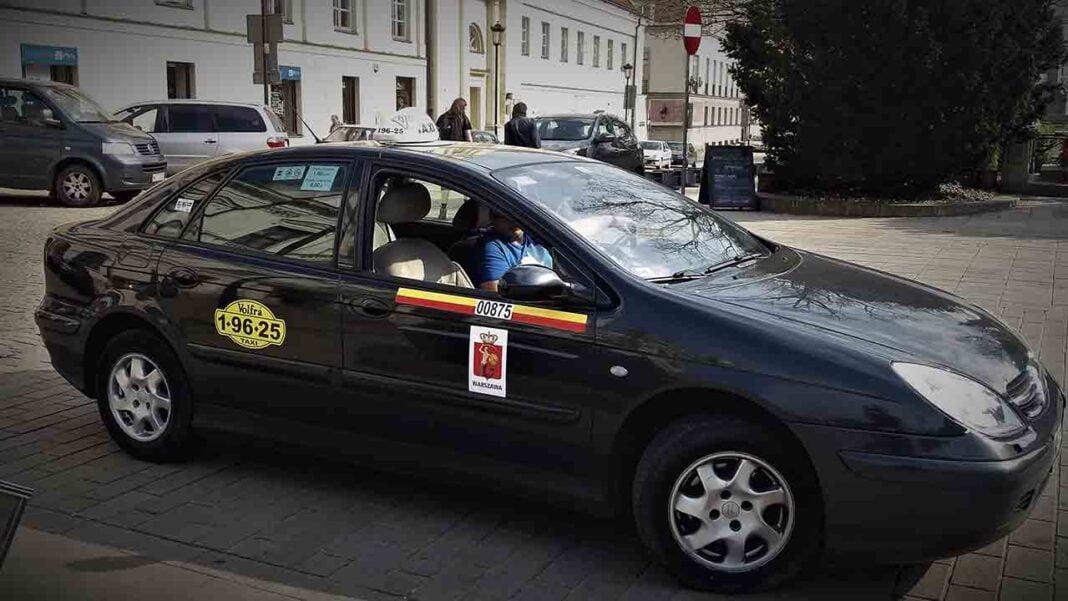 Más de 6.000 taxistas polacos están sin trabajo