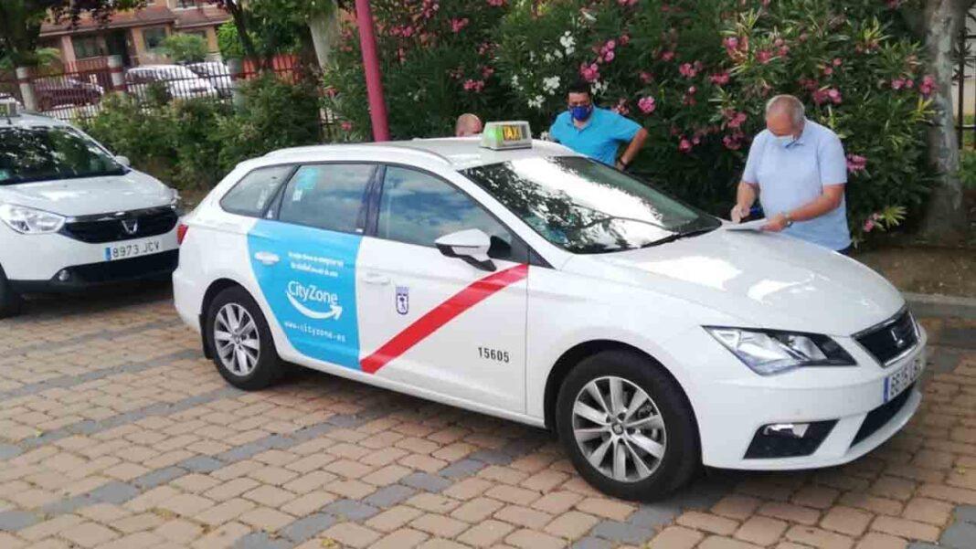 Radio Taxi Fuenlabrada desinfecta sus vehículos con ozono
