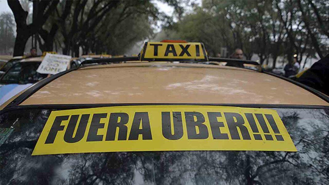 Argentina Anti-Uber: Alerta y movilización de los taxistas por el supuesto aval de funcionamiento