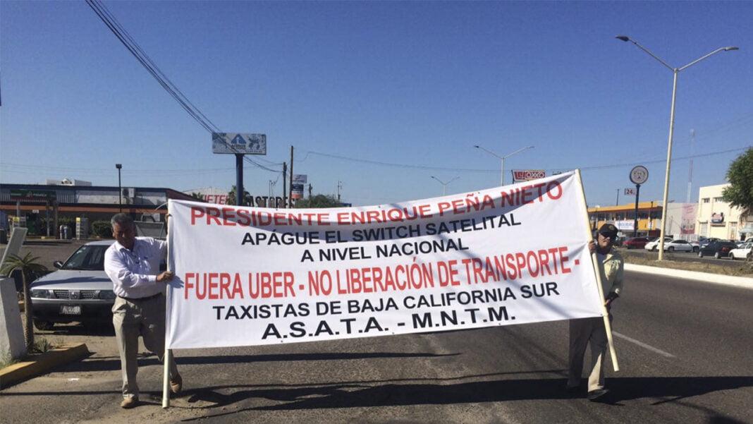 Baja California castigará con penas de cárcel a los conductores de Uber ilegales